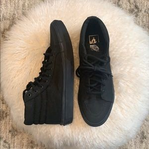 Vans sk8 hi slim skate shoes